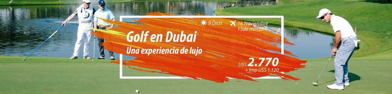 Golf en dubai